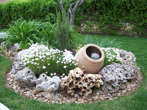 cmo decorar tu jardn - Como Decorar Un Jardin
