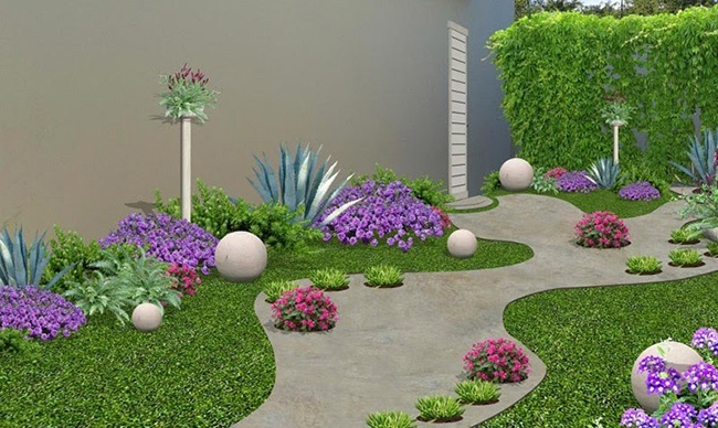 decorar un jardin pequeno ideas para decorar el jardin simetria cmo redecorar tu jardn with decorado de jardines